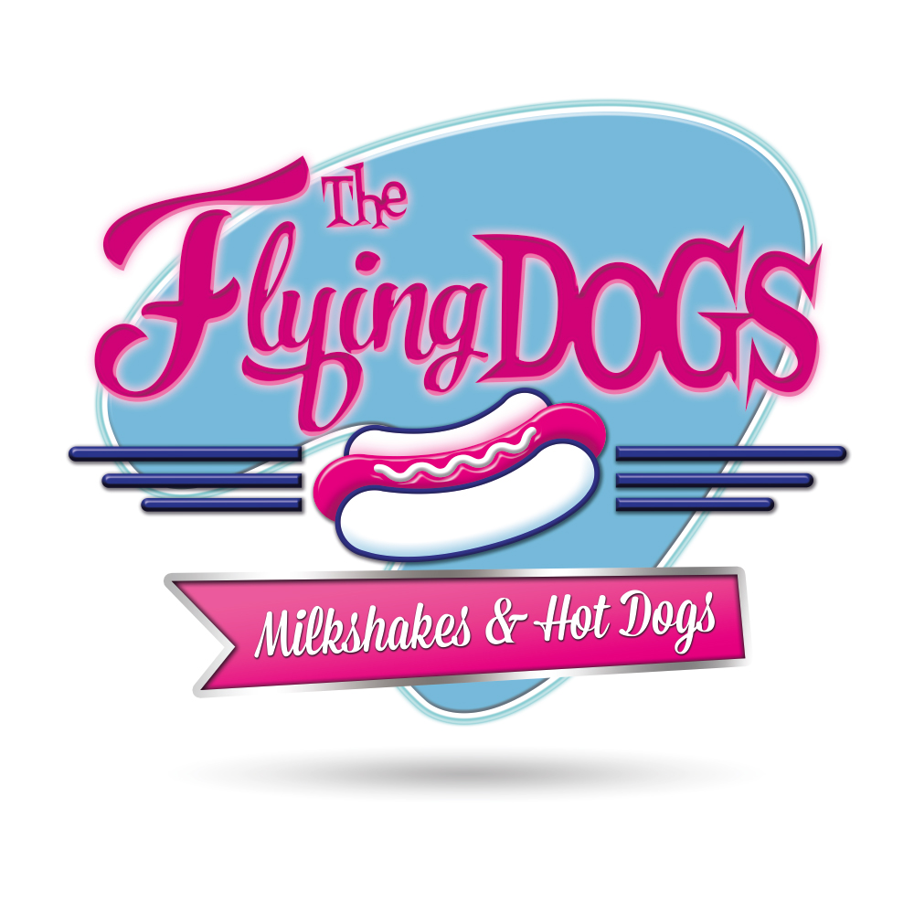 Diseño logotipo para The Flying Dogs